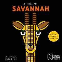 Sticker Art Savannah by Natural History Museum