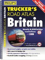 Philip's Trucker's Road Atlas Britain by