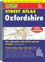 Philip's Street Atlas Oxfordshire 5ED Spiral (New Edition) by