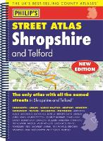 Philip's Street Atlas Shropshire and Telford by