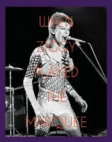 When Ziggy Played the Marquee David Bowie's Last Performance as Ziggy Stardust by Terry O'Neill