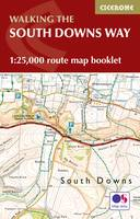 The South Downs Way Map Booklet 1:25,000 OS Route Mapping by Kev Reynolds