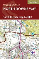 North Downs Way Map Booklet by Kev Reynolds