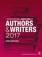 International Who's Who of Authors and Writers by Europa Publications