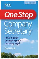 One Stop Company Secretary by Martin David