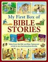 My First Box of Bible Stories Tales from the Old and New Testament Retold in Six Charming Boardbooks by Jan Lewis