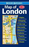 Map of London by Bensons MapGuides