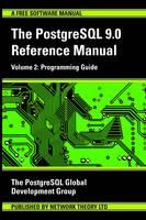 PostgreSQL 9.0 Reference Manual Programming Guide by PostgreSQL Development Group