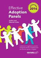 Effective Adoption Panels by Jenifer Lord