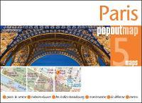 Paris PopOut Map by PopOut Maps