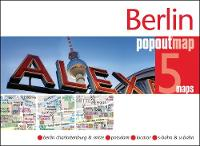 Berlin PopOut Map by PopOut Maps