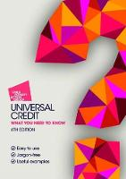 Universal Credit What You Need to Know by Alison Gillies, Henri Krishna, Simon Osborne, Judith Paterson