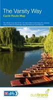 The Varsity Way Cycle Route Map NCN 51 Oxford to Cambridge by Sustrans