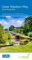 Great Western Way Cycle Route Map Bristol Temple Meads to Brunel Museum NCN4 by Sustrans