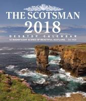 The Scotsman Desktop Calendar 2018 (In CD Box) 12 Magnificent Views of Beautiful Scotland by The Scotsman Newspaper