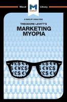 Marketing Myopia by Monique Diderich