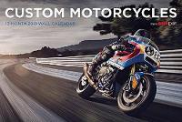 Custom Motorcycles Bike Exif Calendar 2018 by Chris Hunter