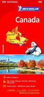 Canada Map 2017 by Michelin