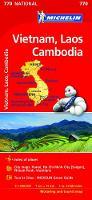 Vietnam Laos Cambodia Map 2017 by Michelin