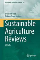 Sustainable Agriculture Reviews Cereals by Eric Lichtfouse