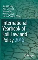 International Yearbook of Soil Law and Policy by Harald Ginzky