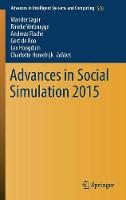 Advances in Social Simulation by Wander Jager
