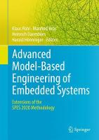 Advanced Model-Based Engineering of Embedded Systems Extensions of the SPES 2020 Methodology by Klaus Pohl