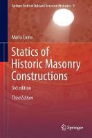 Statics of Historic Masonry Constructions by Mario Como