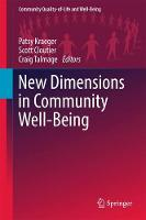 New Dimensions in Community Well-Being by Patsy Kraeger