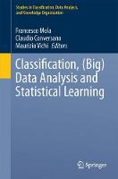 Classification, (Big) Data Analysis and Statistical Learning by Francesco Zamora Mola