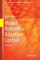 Model-Reference Adaptive Control A Primer by Nhan T. Nguyen
