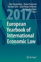 European Yearbook of International Economic Law by Marc Bungenberg