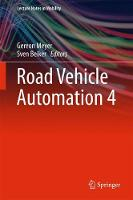 Road Vehicle Automation 4 by Gereon Meyer