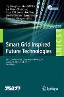 Smart Grid Inspired Future Technologies Second EAI International Conference, SmartGIFT 2017, London, UK, March 27-28, 2017, Proceedings by Eng Tseng Lau