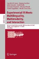 Experimental IR Meets Multilinguality, Multimodality, and Interaction 8th International Conference of the CLEF Association, CLEF 2017, Dublin, Ireland, September 11-14, 2017, Proceedings by Gareth J.F. Jones