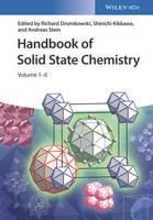 Handbook of Solid State Chemistry 6 Volume Set by Richard Dronskowski