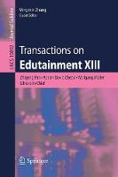Transactions on Edutainment XIII by Zhigeng Pan