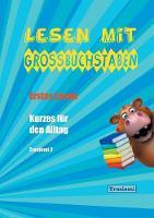 Lesen Mit Grobuchstaben by Tresiemi Horlacher