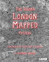 The Island London Mapped Posters by Stephen Walter