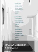 Macba Collection A Selection by