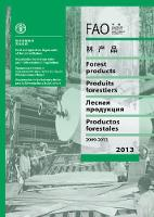 FAO yearbook of forest products 2009-2013 by Food and Agriculture Organization