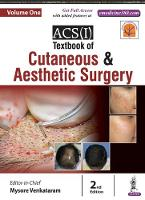 ACS(I) Textbook on Cutaneous & Aesthetic Surgery Two Volume Set by Mysore Venkataram
