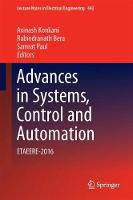 Advances in Systems, Control and Automation ETAEERE-2016 by Avinash Konkani