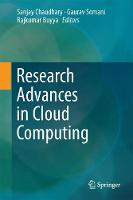 Research Advances in Cloud Computing by Rajkumar Buyya