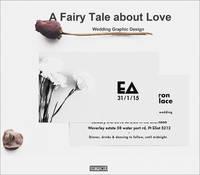 A Fairy Tale About Love Wedding Graphic Design by Xia Jiajia, Yang Ruizhu
