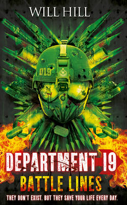 Department 19: Battle Lines by Will Hill