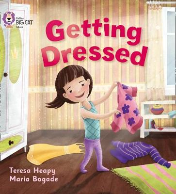 Getting Dressed Band 01A/Pink A by Teresa Heapy