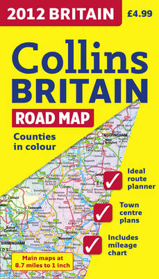2012 Britain Road Map by