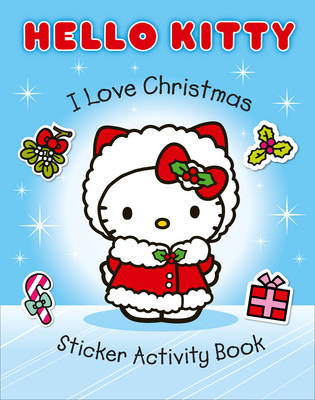 I Love Christmas Sticker Activity Book by