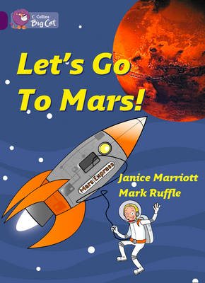 Let's Go to Mars Band 08/Purple by Janice Marriott